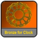 Bronze for Grandfather clock